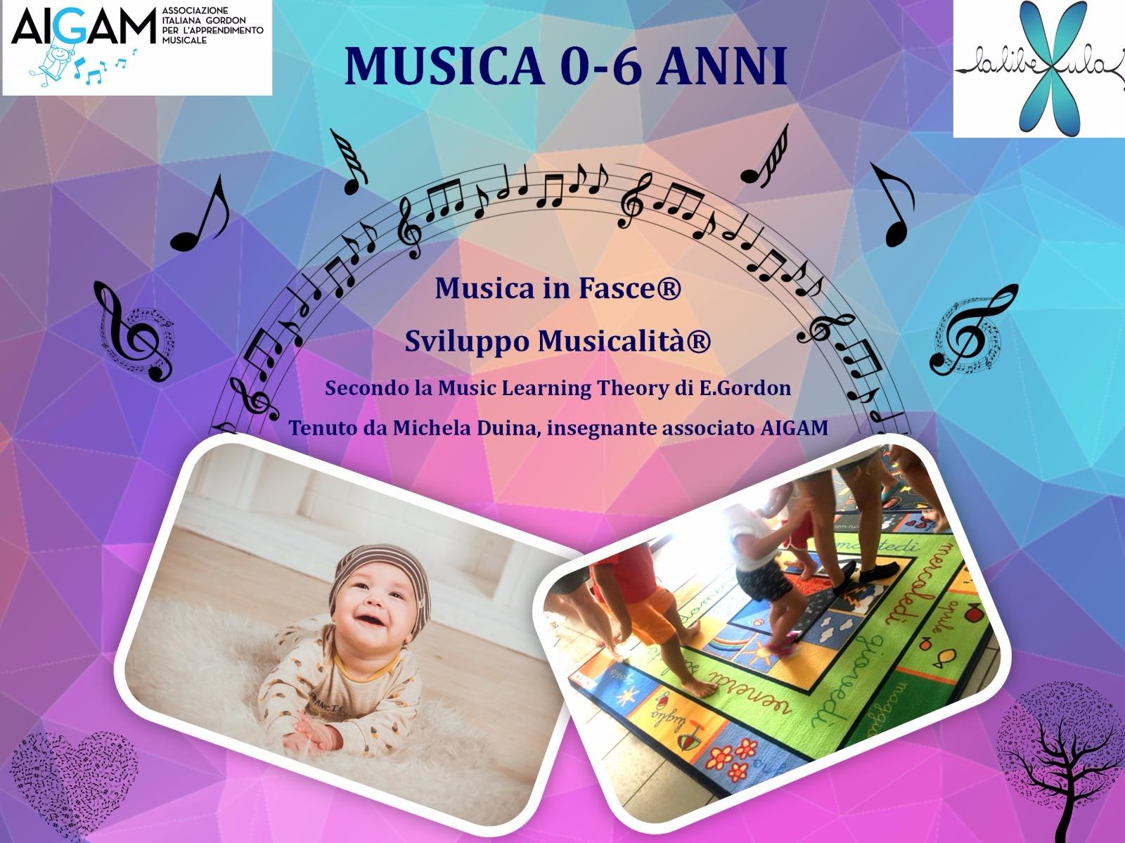 CORSI DI MUSICA 0-6 ANNI